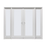 French Swing-In Patio Doors